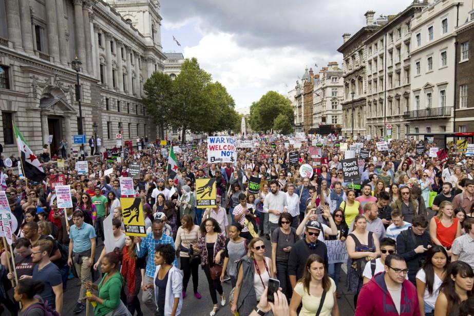 Deux semaines après la diffusion des images du... (PHOTO JUSTIN TALLIS, ARCHIVES AFP)