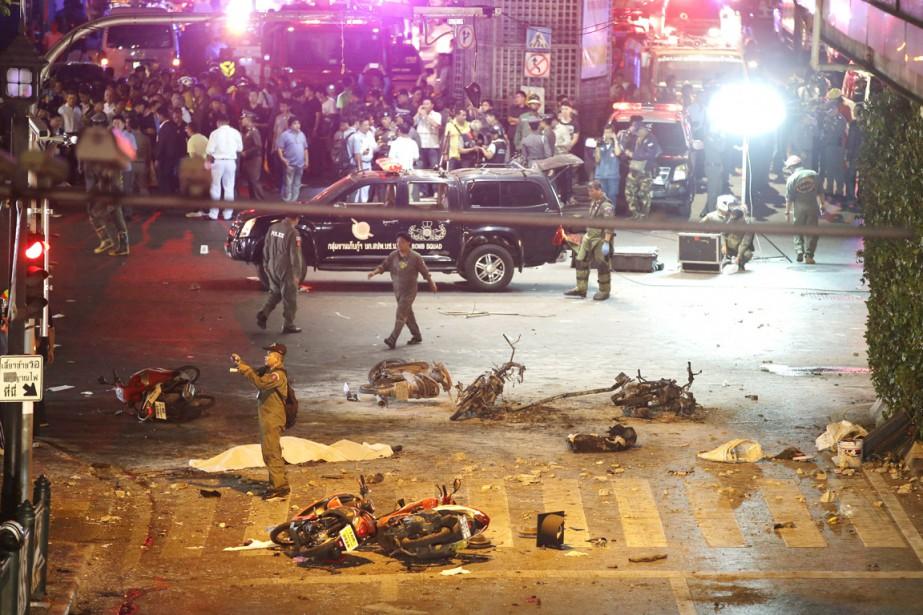 L'attentat du 17 août, qui a visé le... (PHOTO MARK BAKER, ARCHIVES AP)