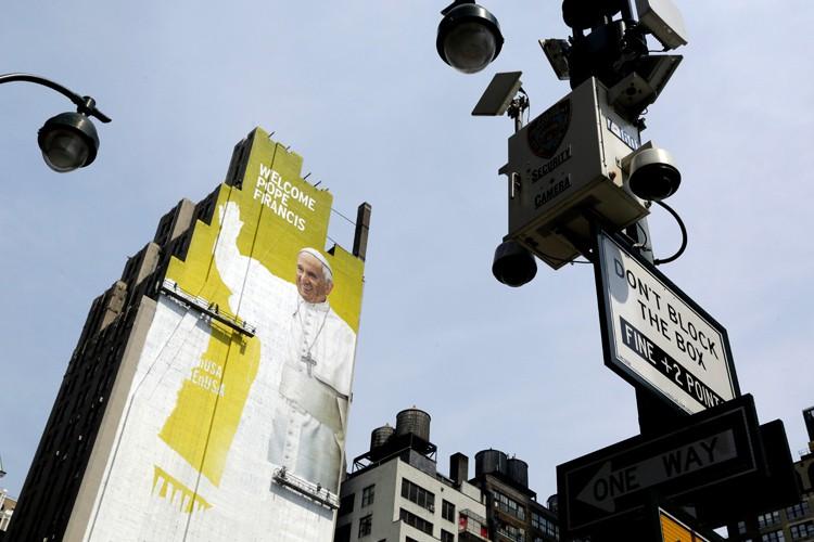 Le pape François doit arriver le 24 septembre... (PHOTO AP)