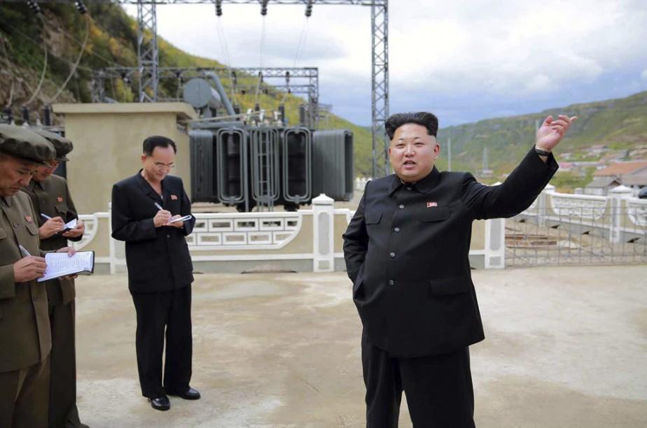 Kim Jong-Un... (PHOTO ARCHIVES AFP)