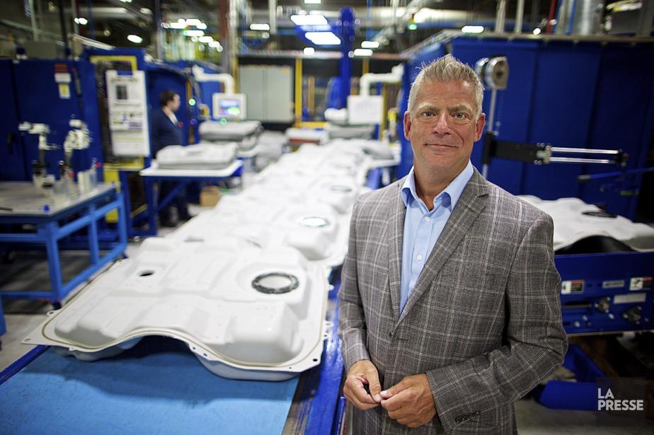 Denis Poirier, vice-président exécutif et chef de la... (PHOTO ANDRÉ PICHETTE, LA PRESSE)