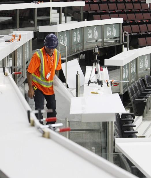 Des travaux ont eu lieu cet été au Centre Canadian Tire. Et ils ne sont pas encore tous terminés. (Simon Séguin-Bertrand, LeDroit)