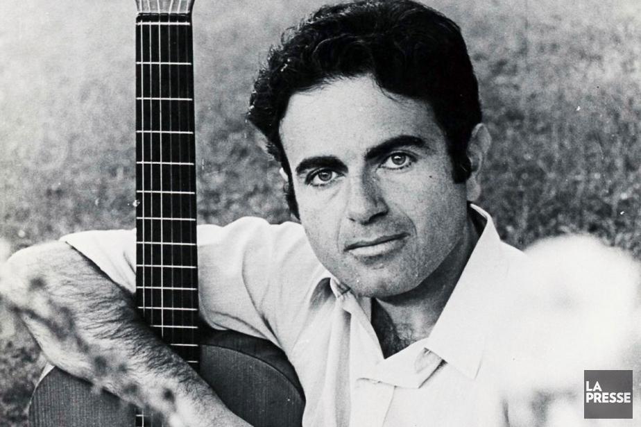 Guy Béart, une grande figure de la chanson... (PHOTO ARCHIVES LA PRESSE)