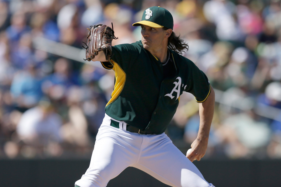 Barry Zito... (Photo Ben Margot, archives AP)