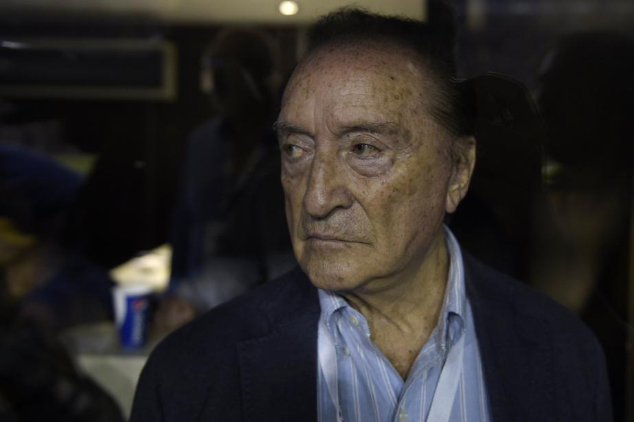 Eugenio Figueredo, l'ancien vice-président de la Confédération sud-américaine... (Photo Juan Mabromata, AFP)