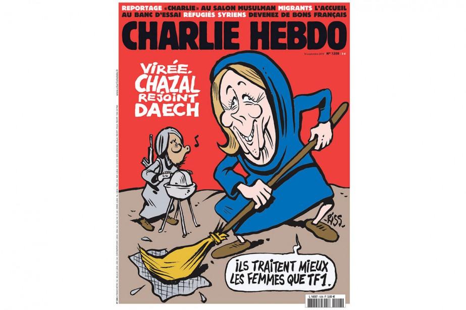 Le dernier numéro de Charlie Hebdo....