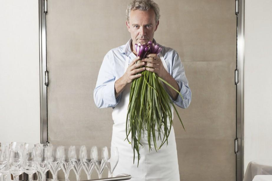 Alain Passard... (Photo Pauline Le Goff, fournie par l'Arpège)