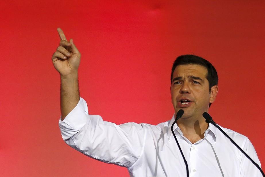 Le premier ministre sortant Alexis Tsipras... (Photo Paul Hanna, Reuters)