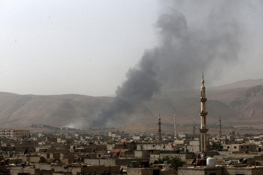 La situation en Syrie est un véritable fiasco,... (PHOTO BASSAM KHABIEH, REUTERS)