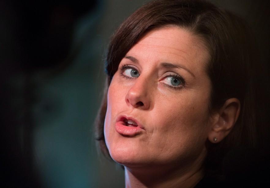 Notre chroniqueuse estime que la ministre de la... (Photo Jacques Boissinot, La Presse Canadienne)