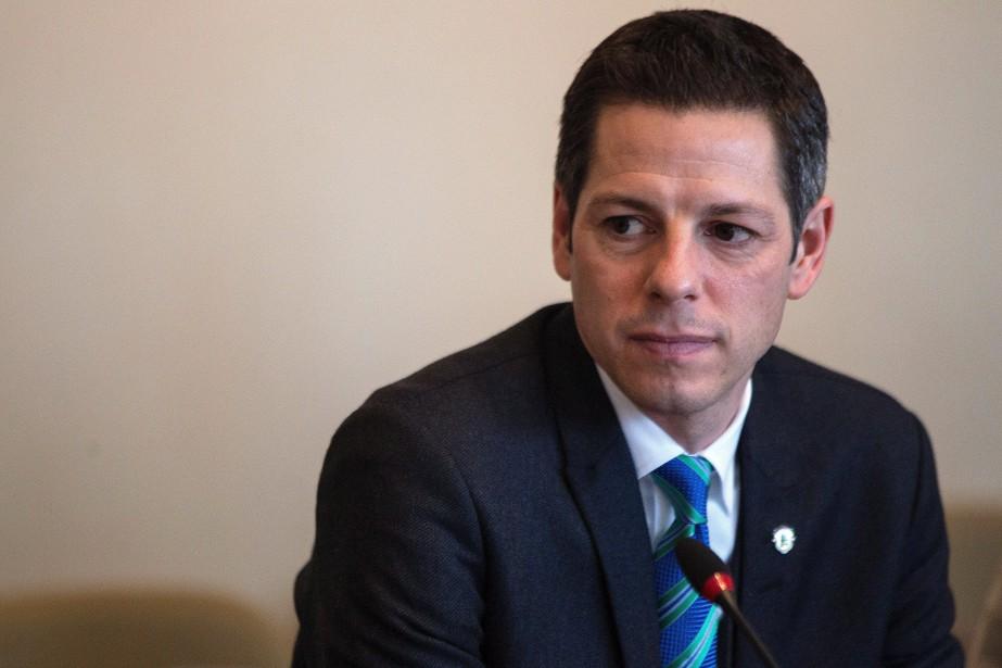 Le maire de Winnipeg, Brian Bowman... (Photo archives La Presse Canadienne)