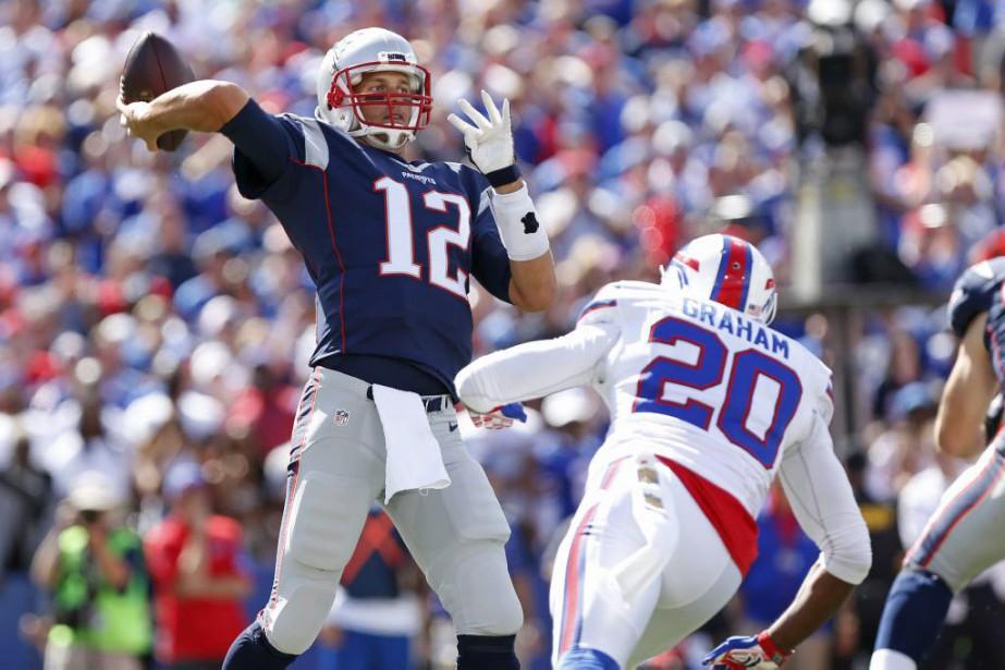 Tom Brady... (Photo Kevin Hoffman, USA TODAY Sports)