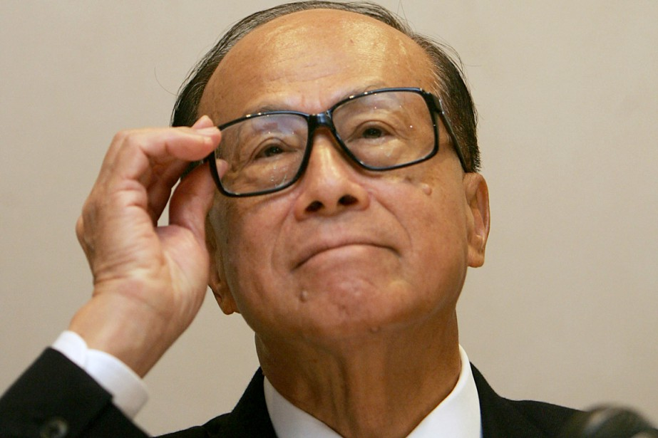 Li Ka-shing possède une fortune de plus de... (PHOTO MIKE CLARKE, ARCHIVES AFP)