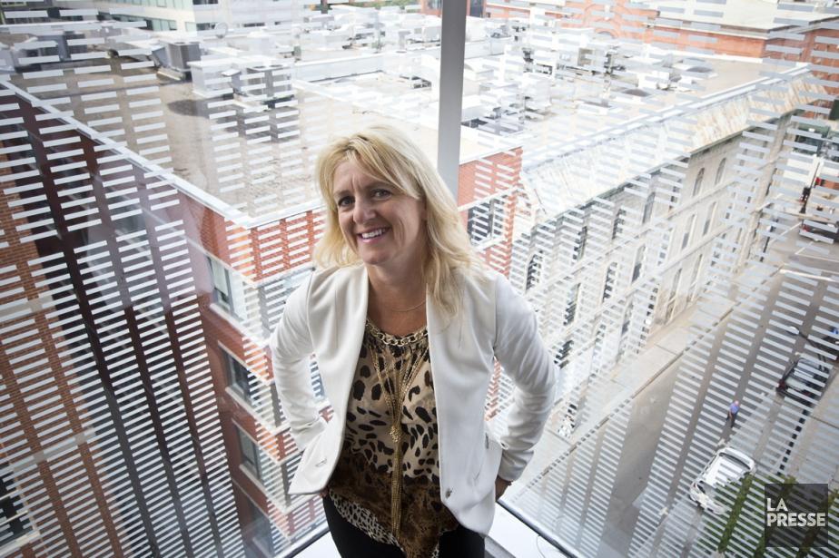 Doryne Bourque est vice-présidente aux solutions municipales chez... (PHOTO PATRICK SANFAÇON, LA PRESSE)