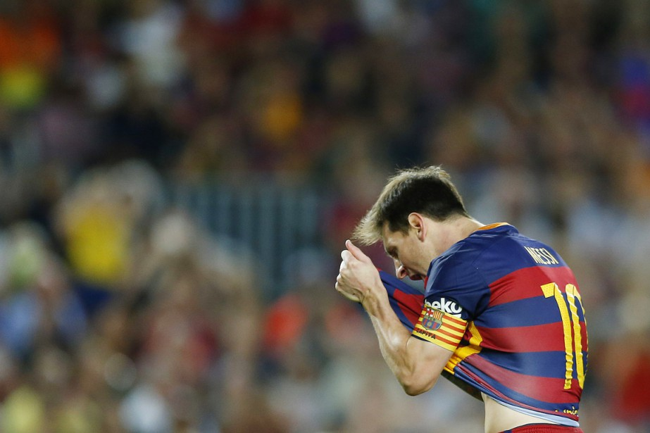 Le FC Barcelone de Lionel Messi ne pourrait... (PHOTO MANU FERNANDEZ, AP)