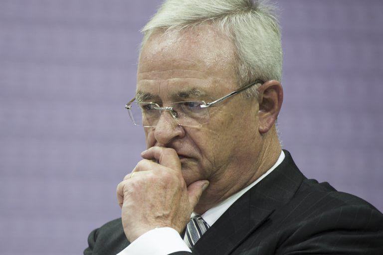 Martin Winterkorn, PDG deVolkswagen.... (PHOTO ODD ANDERSEN, AFP)