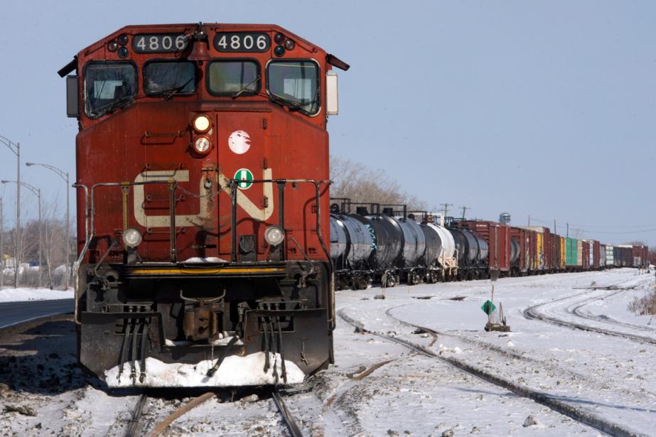 Le titre du transporteur ferroviaire montréalais a rebondi... (Photo Ryan Remiorz, archives PC)