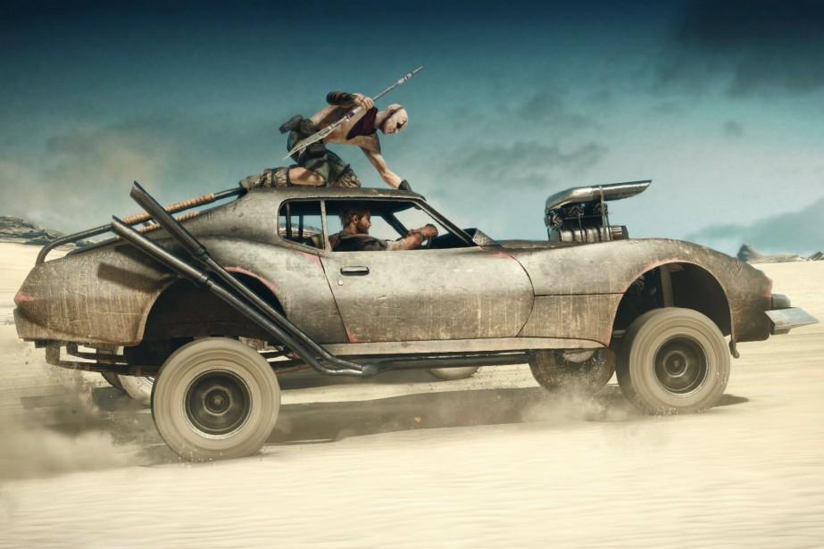 Surfant sur le retour de Mad Max au cinéma,... (Capture d'écran)