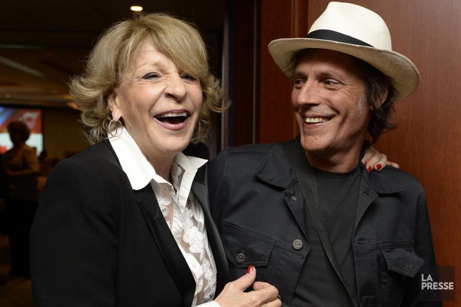 Diane Juster et Jean Leloup ont été récompensés... (PHOTO BERNARD BRAULT, LA PRESSE)