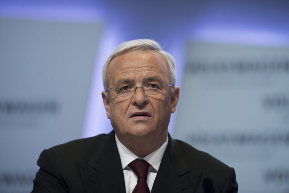 L'ex-patron de Volkswagen, Martin Winterkorn,peut s'attendre à recevoir... (PHOTO JOHANNES EISELE, ARCHIVES AFP)
