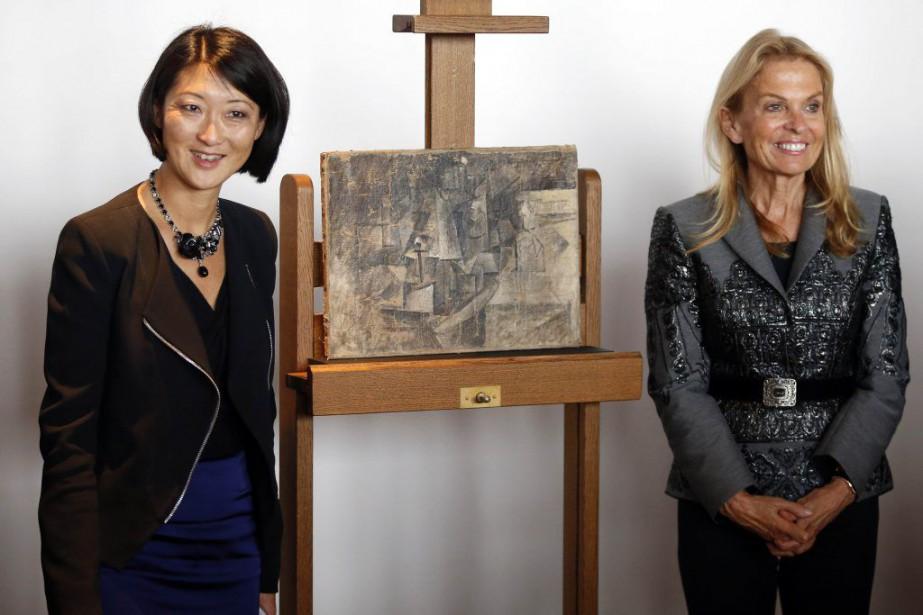 La ministre de la Culture Fleur Pellerin et... (PHOTO REUTERS)