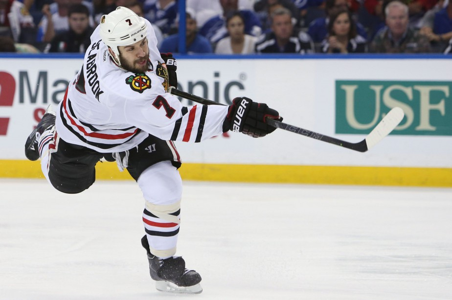 Brent Seabrook... (PHOTO ARCHIVES USA TODAY)