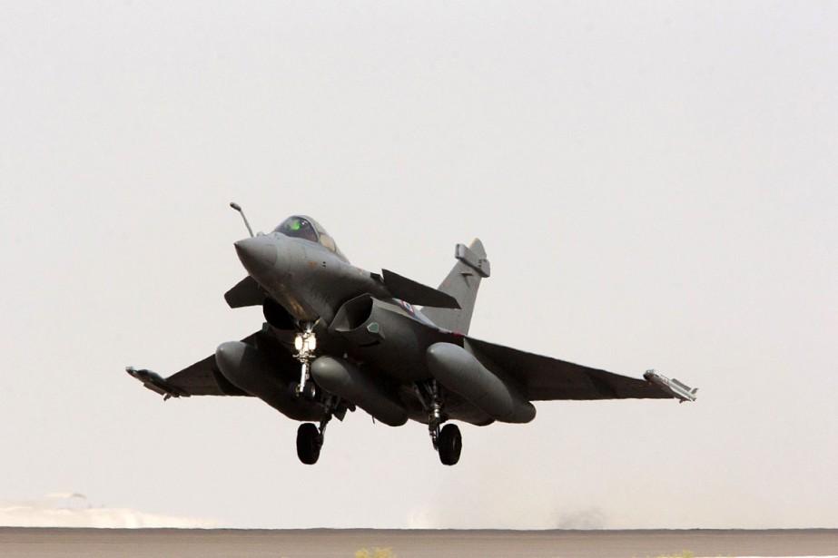 La France avait lancé le 8 septembre des... (Photo archives ECPAD / AFP)