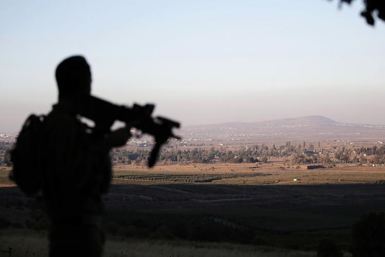 La ligne de cessez-le-feu sur le Golan était... (PHOTO AFP)