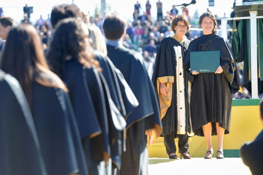 Remise des diplômes (Imacom, Maxime Picard)