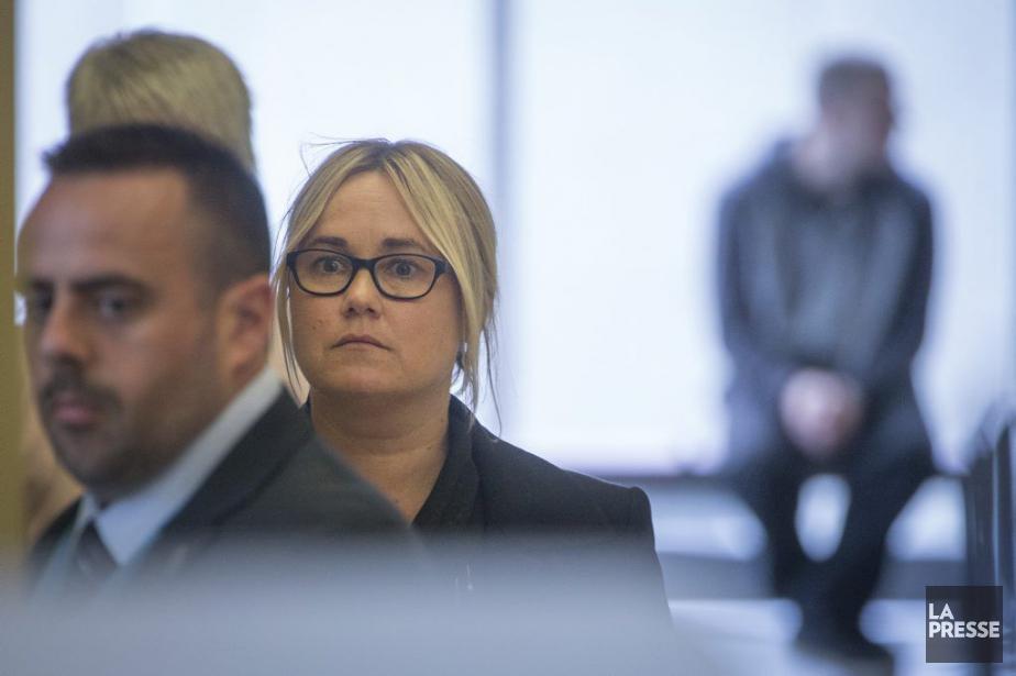 Isabelle Gaston a amorcé son témoignage au procès... (PHOTO IVANOH DEMERS, LA PRESSE)