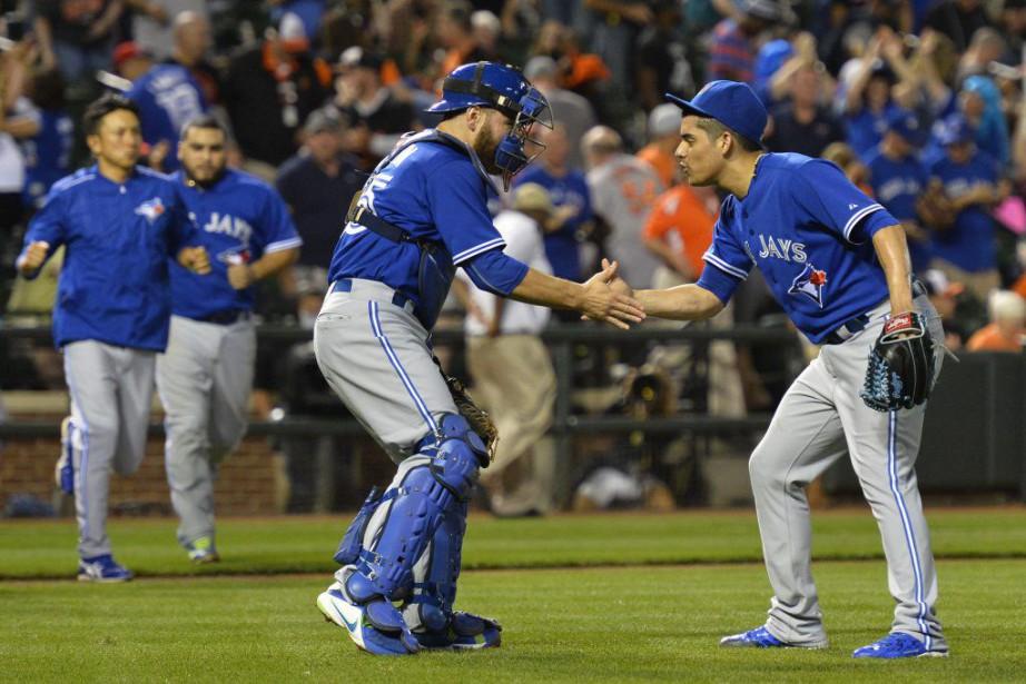 Les Blue Jays de Toronto se sont approchés du titre de la... (PHOTO REUTERS)