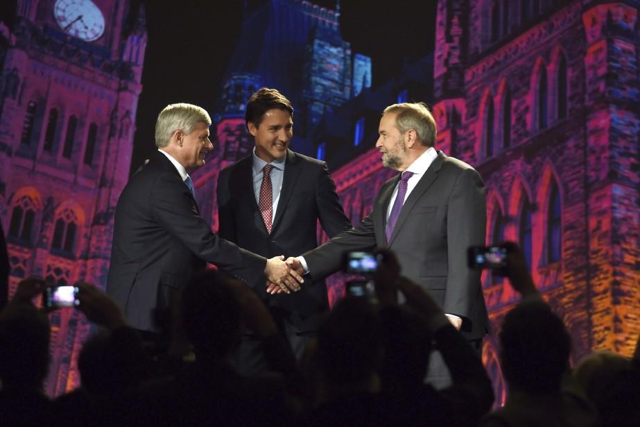 Le chef du Parti conservateur, Stephen Harper, le... (PHOTO SEAN KILPATRICK, ARCHIVES LA PRESSE CANADIENNE)