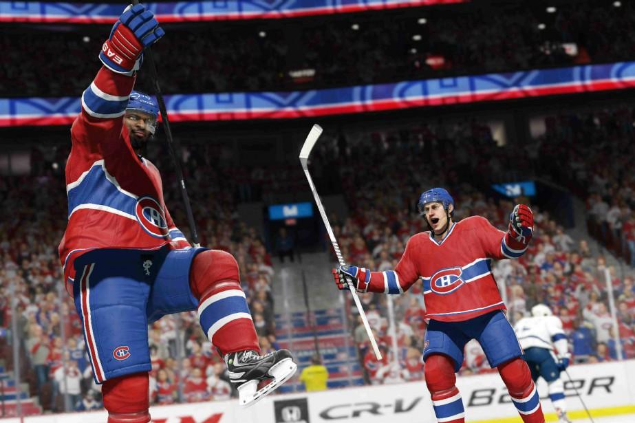 Les créateurs de NHL 16 ont consacré des... (CAPTURE D'ÉCRAN)