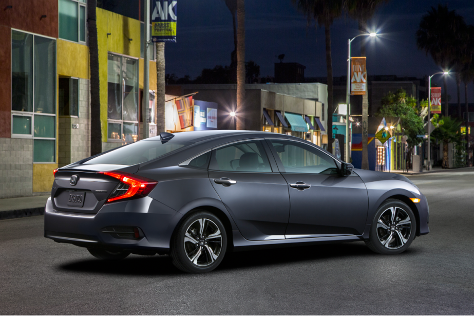 La Honda Civic 2016 (Photo fournie par Honda)