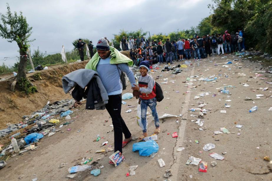 Pour l'auteure, l'Europe doit ouvrir ses portes aux... (PHOTOANTONIO BRONIC, REUTERS)