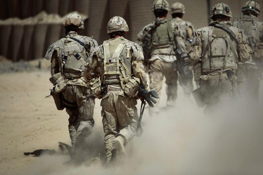 Le budget militaire du Canada est devenu le... (photo archives la presse canadienne)