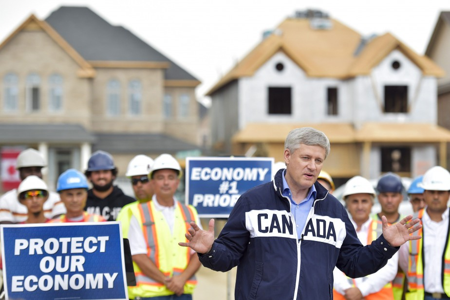 Le chef du Parti conservateur, Stephen Harper... (Photo Nathan Denette, La Presse Canadienne)