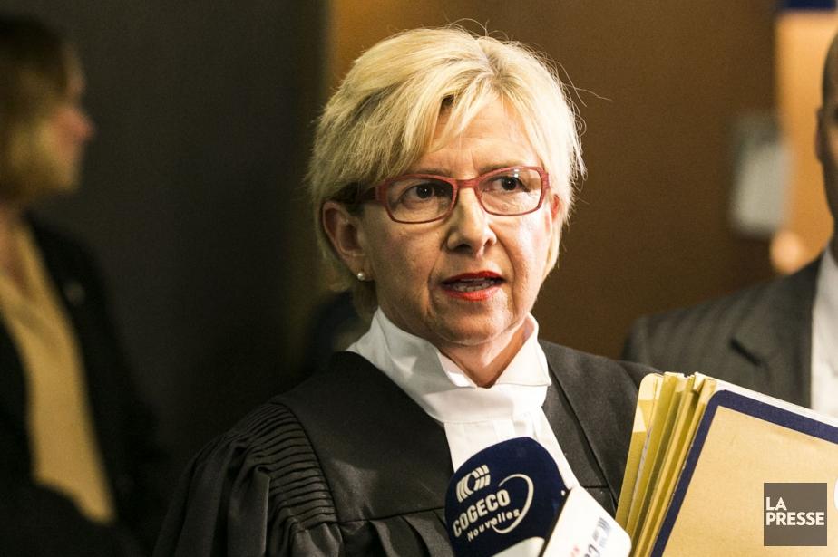 Lyne Décarie, la procureure de la couronne... (PHOTO HUGO-SEBASTIEN AUBERT, LA PRESSE)