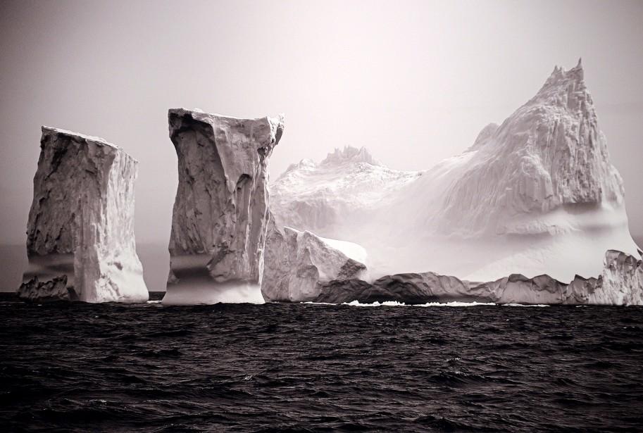 L'expositionD'un pôle à l'autre- La poésie des glaces (Le Soleil, Erick Labbé)