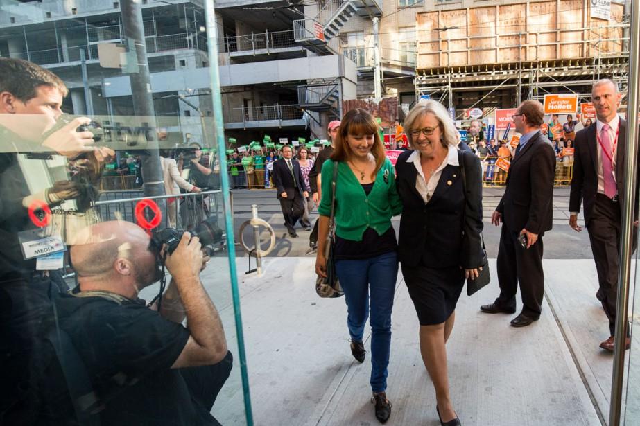 Victoria Cate May Burton, la fille de la chef du Parti vert, Elizabeth May, se présente dans Berthier-Maskinongé. Elle se qualifie elle-même de candidate poteau. (Photo: Courtoisie)
