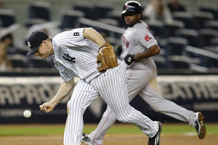 Michael Pineda a été malmené en début de match et les Yankees de... (PHOTO AP)