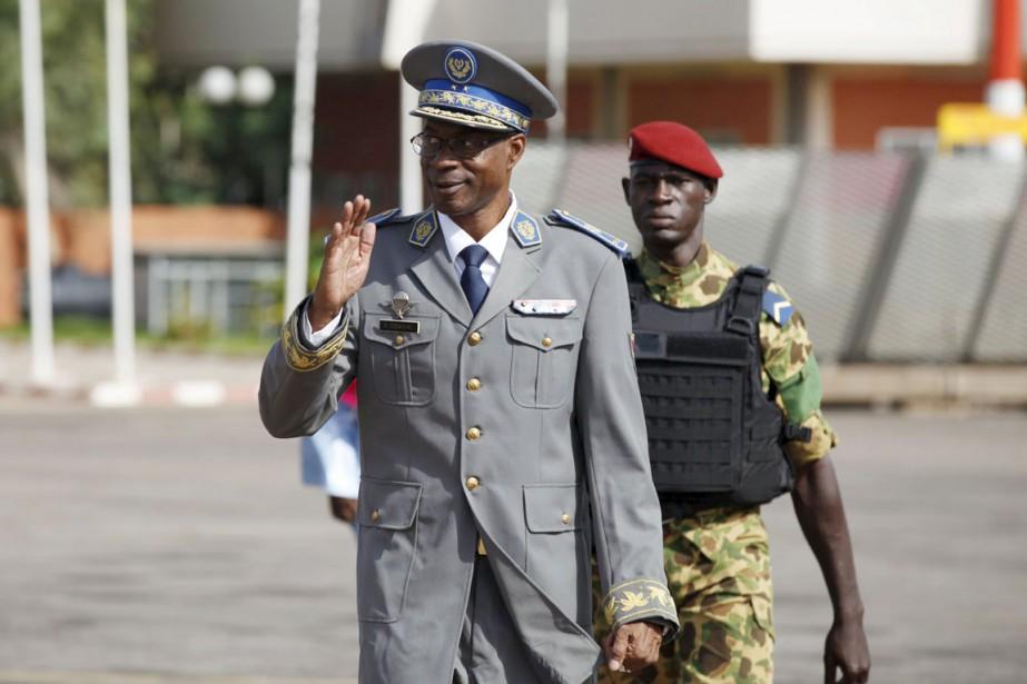 L'ex-chef putschiste, le général Gilbert Diendéré.... (PHOTO JOE PENNEY, ARCHIVES REUTERS)