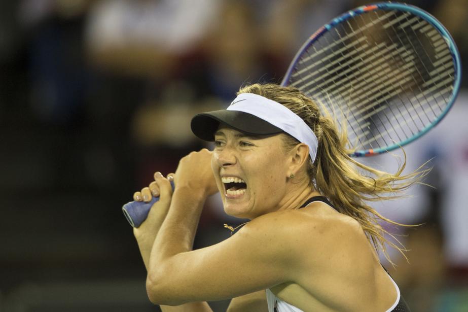 Maria Sharapova... (Photo Fred Dufour, AFP)