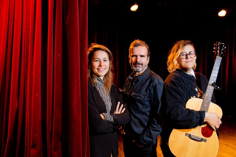 Salomé Leclerc, Pierre Flynn et Safia Nolin seront... (PHOTO ALAIN ROBERGE, LA PRESSE)