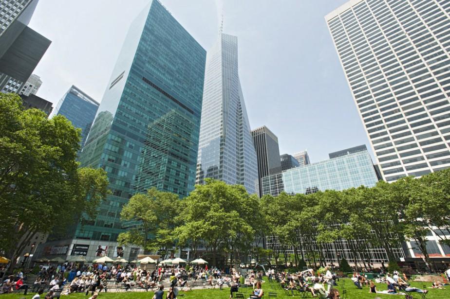 Le portefeuille immobilier new-yorkais de la Caisse de... (PHOTO FOURNIE PAR IVANHOÉ CAMBRIDGE)