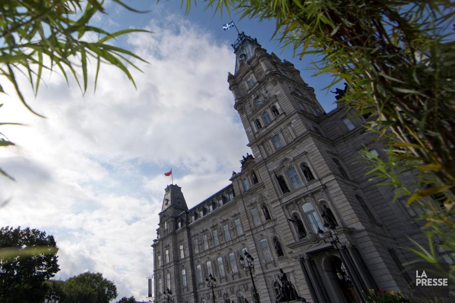 L'édifice de l'Assemblée nationale à Québec.... (Photo Ivanoh Demers, archives La Presse)