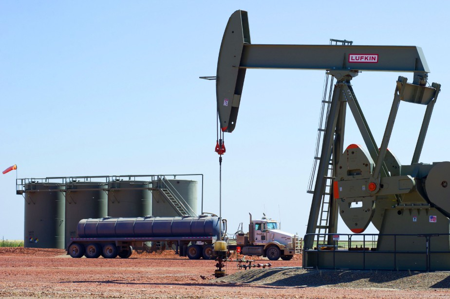 Le cours du baril de «light sweet crude»... (PHOTO ARCHIVES AGENCE FRANCE-PRESSE)