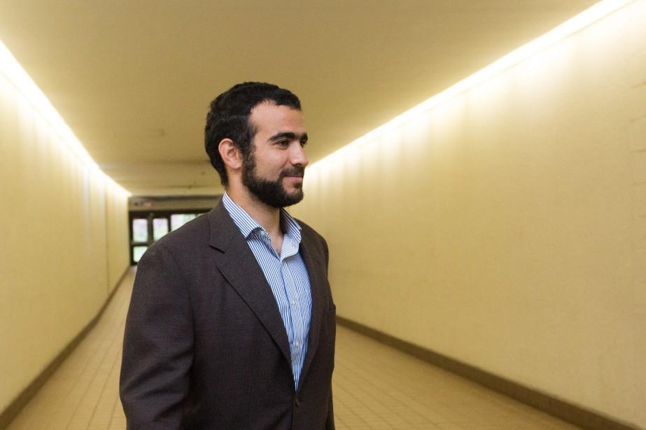 Omar Khadr... (Photo Amber Bracken, La Presse Canadienne)