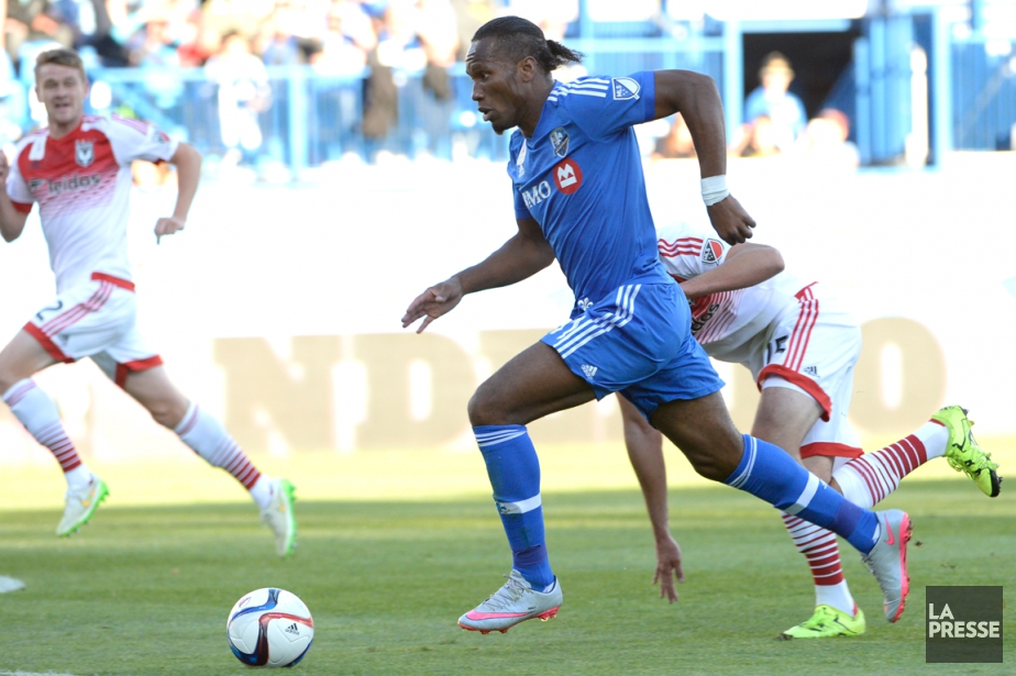 Didier Drogba a marqué sept buts en cinq... (PHOTO BERNARD BRAULT, LA PRESSE)