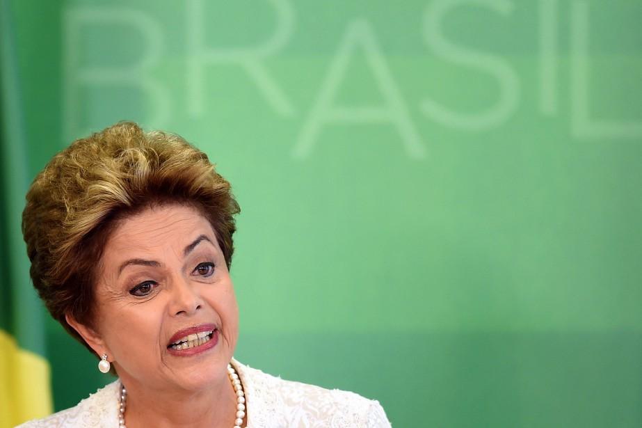 La présidente brésilienne, Dilma Rousseff... (PHOTO EVARISTO SA, AFP)